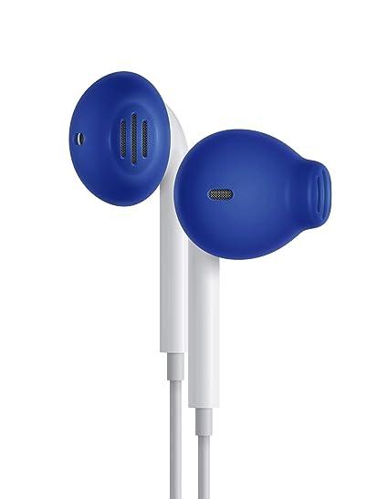 84729b8502c Amazon.com: EarSkinz ES2 Covers for Apple EarPods (Blue): Electronics