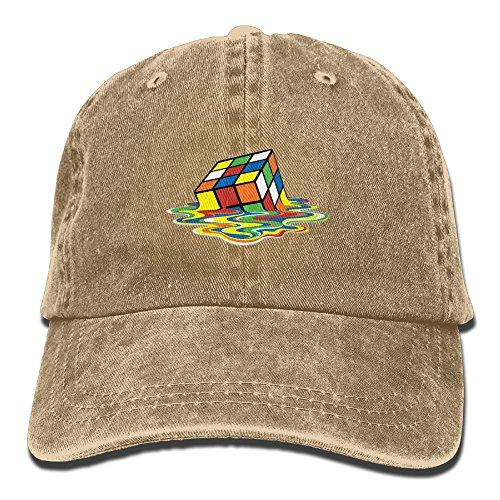 Rubix Cube Costumes (Melting Rubix Cube Unisex Leisure Cowboy Hat)