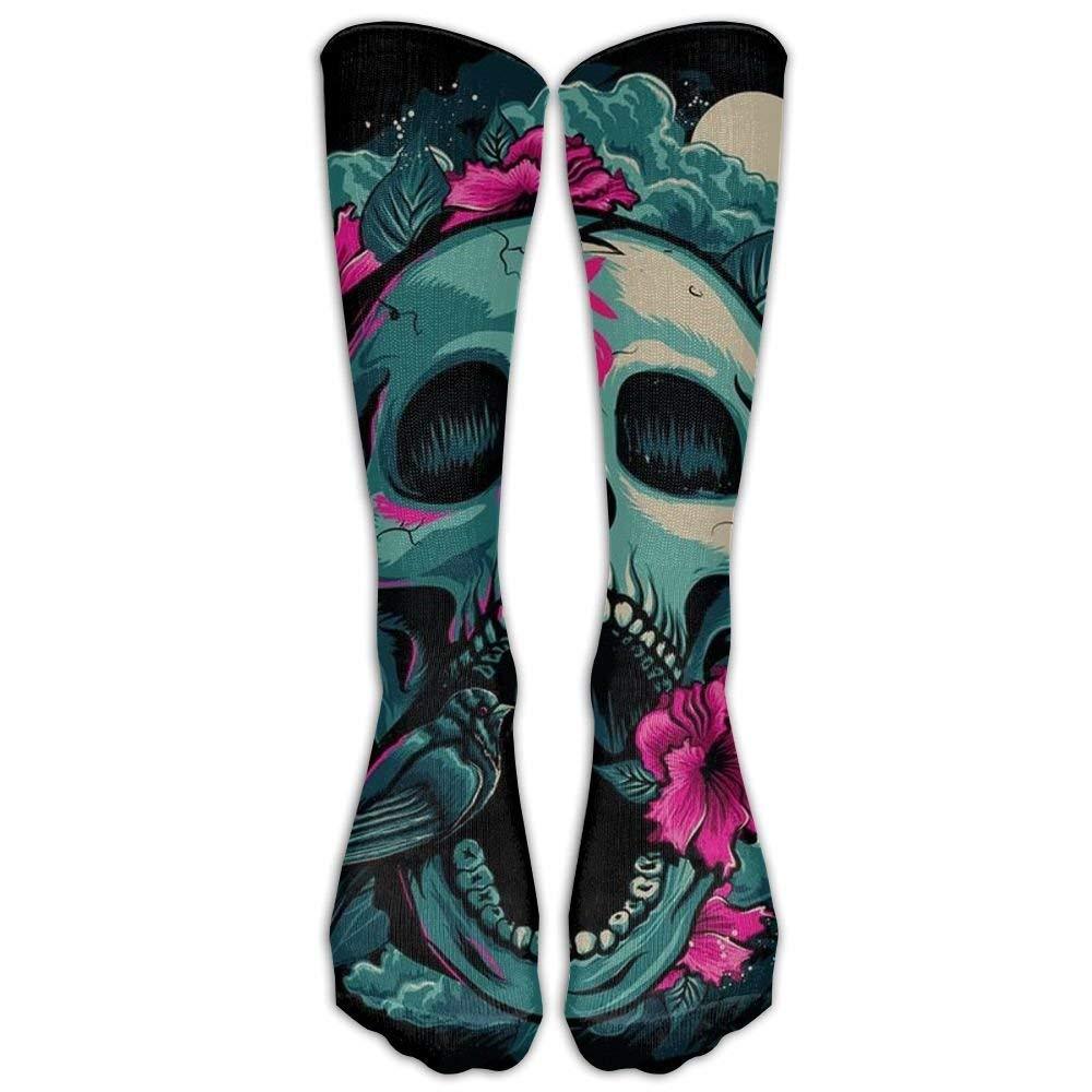 Perfect Gift - Finger Glasses Cool Skull Art Stockings Breathable Hiking Socks Classics Socks For Women Teens Girls Unisex