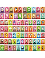 75 PCS ANCH NFC Tag Game Cards for New Horizons Switch/Switch Lite/Wii U with Storage Case