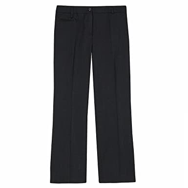 reliable quality size 40 coupon code ensemble Ladies Plus Size Straight Leg Work Pants (Sizes 16-26) Wool Blend  Formal Trousers for Office
