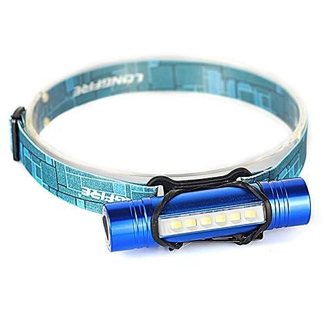 cob led headlamp headlight head lamp light torch flashlight portable 3 modes ZN