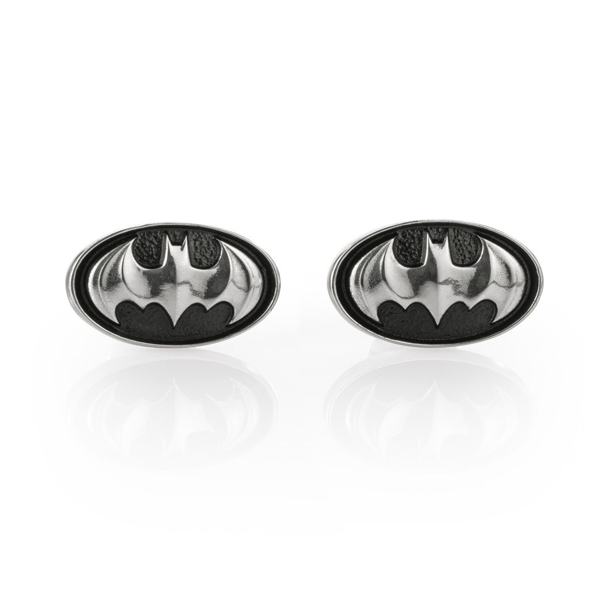 Royal Selangor Hand Finished Batman Collection Pewter Insignia Cufflinks