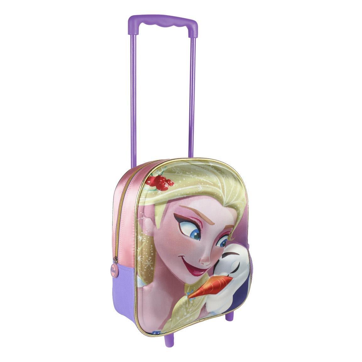 Disney Frozen 2100002104, Carrito Infantil, Effecto 3D, 31 cm, Multicolor: Amazon.es: Equipaje