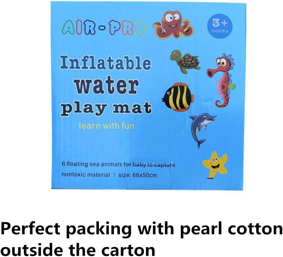 Tapis de Jeu en PVC Imperm/éable only y Aire de Jeux Boudins Gonflables Tapis deau Gonflable pour B/éb/é Centre de Jeux Dactivit/és Amusantes 60 x 50 x 6cm Multicolore