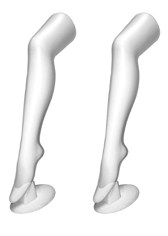 MeowInc. 28'' Mannequin Leg Display Sock and Hosiery Manikins (2)