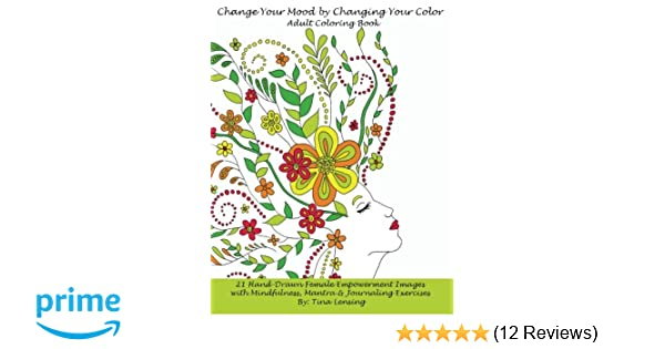 Amazon.com: Change Your Mood by Changing Your Color: Adult Coloring ...