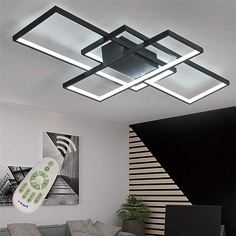 Amazon.com: Lámpara de techo moderna LED de montaje ...
