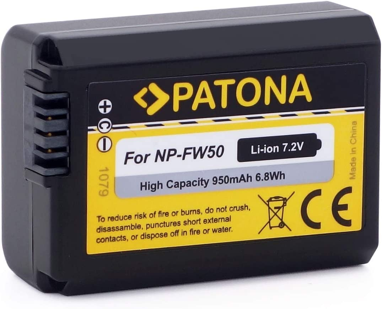 Patona Qualitätsakku Ersatz Für Akku Sony Np Fw50 Kamera