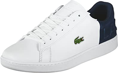 33033192710be Image Unavailable. Image not available for. Colour  Lacoste Men s Carnaby  Evo 318 2 Qsp SPM Leather Trainers White ...