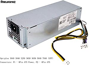 New 240W Power Supply for Dell Optiplex 3040 3046 3250 3650 3656 5040 7040 (SFF) B240NM-00 D240EPN-00 AC240EM-00 L240EPM-00 L240AM-00 H240EM-00 P/N: THRJK 4GTN5 4R1KT D7GX8 HGRMH