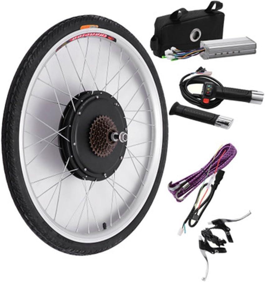 Motor eléctrico Motor Kit de conversión bicicleta para ruedas de bicicleta (48 V 500 W) LCD/pantalla LED: Amazon.es: Deportes y aire libre