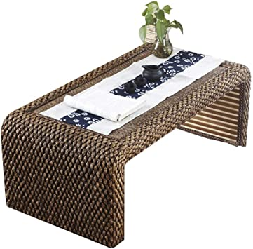 Amazon Com Tables Japanese Style Rattan Tatami Coffee Retro Floor