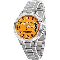 SECTOR Men's R3253578008 Year-Round Analog Quartz Silver Watch