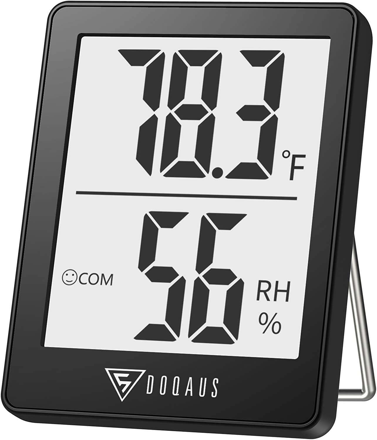 Large LCD Display Digital LCD Thermometer Asixxsix Thermometer Thermometer Hygrometer Lightweight for Home Room