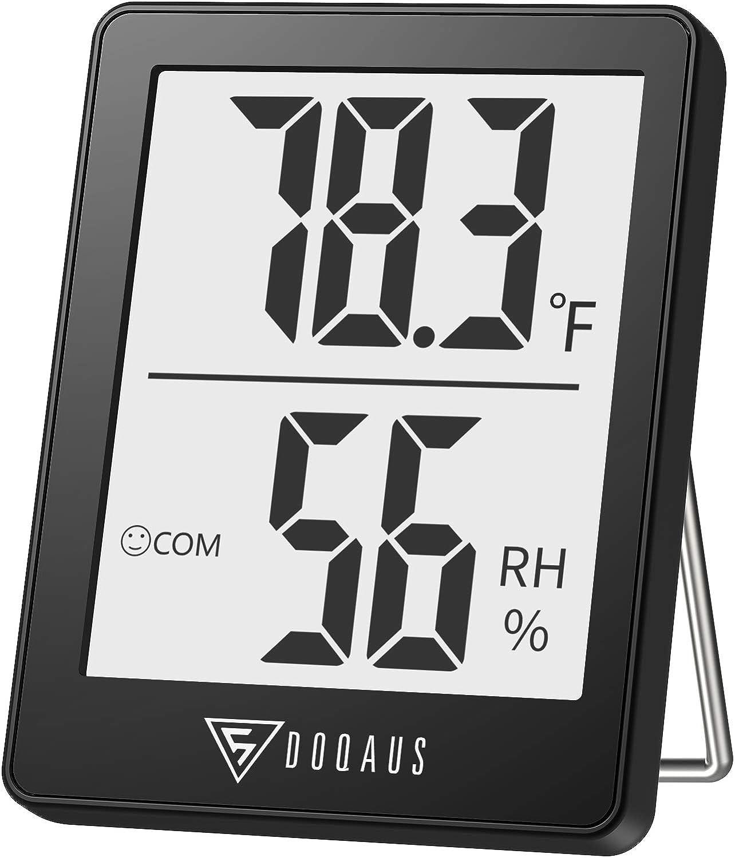Doqaus Digital Hygrometer & Indoor Thermometer Gauge