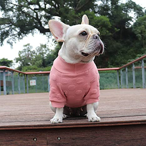 Moda para Mascotas Ropa para Perros Bulldog francés Perro de algodón Chaqueta de Invierno Cálidos Perros