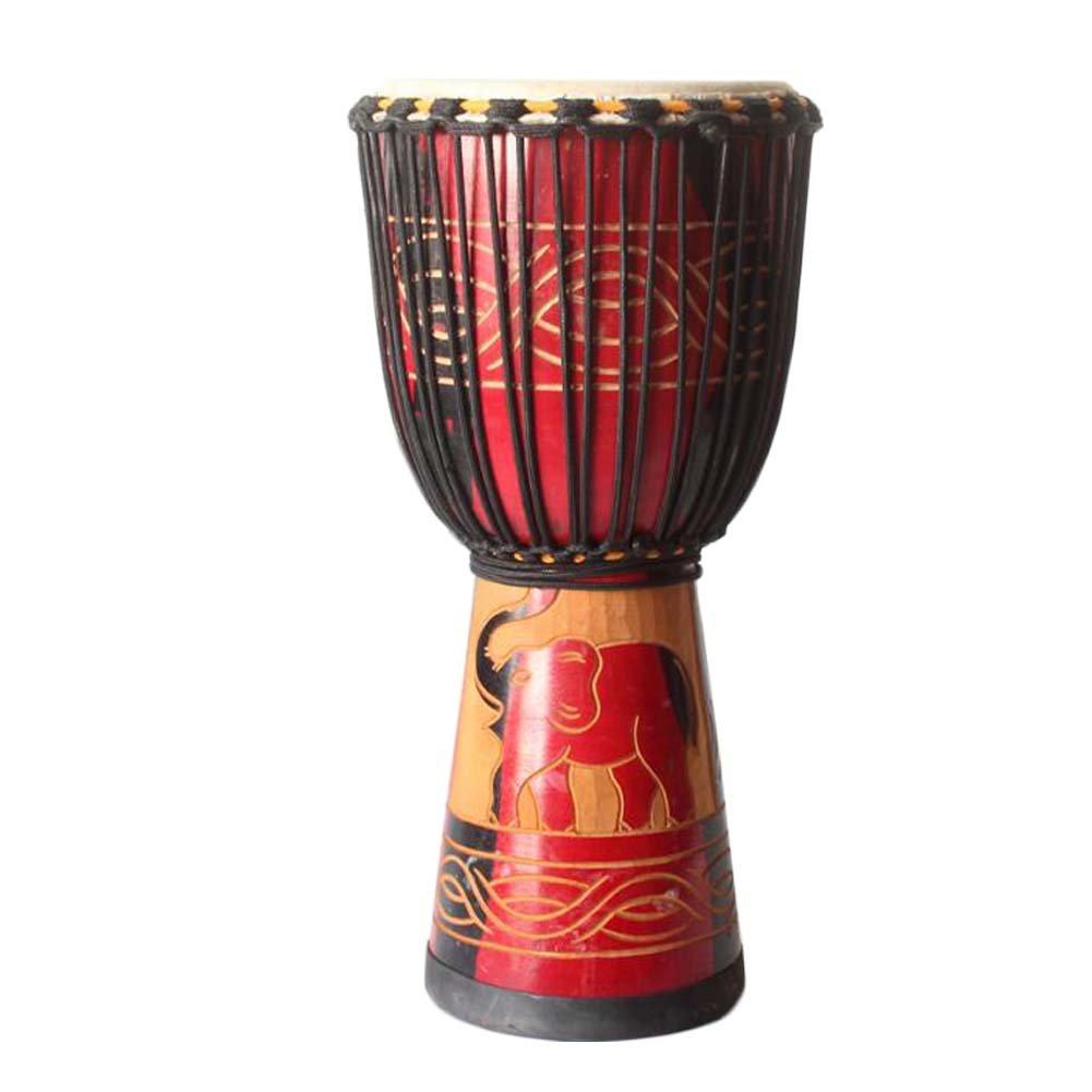 East Majik Beautiful Plan Toy Solid Wood Drum Wonderful Gift#02