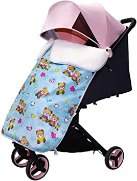 KimCC Baby Thick Stroller Blanket with Clips Windproof