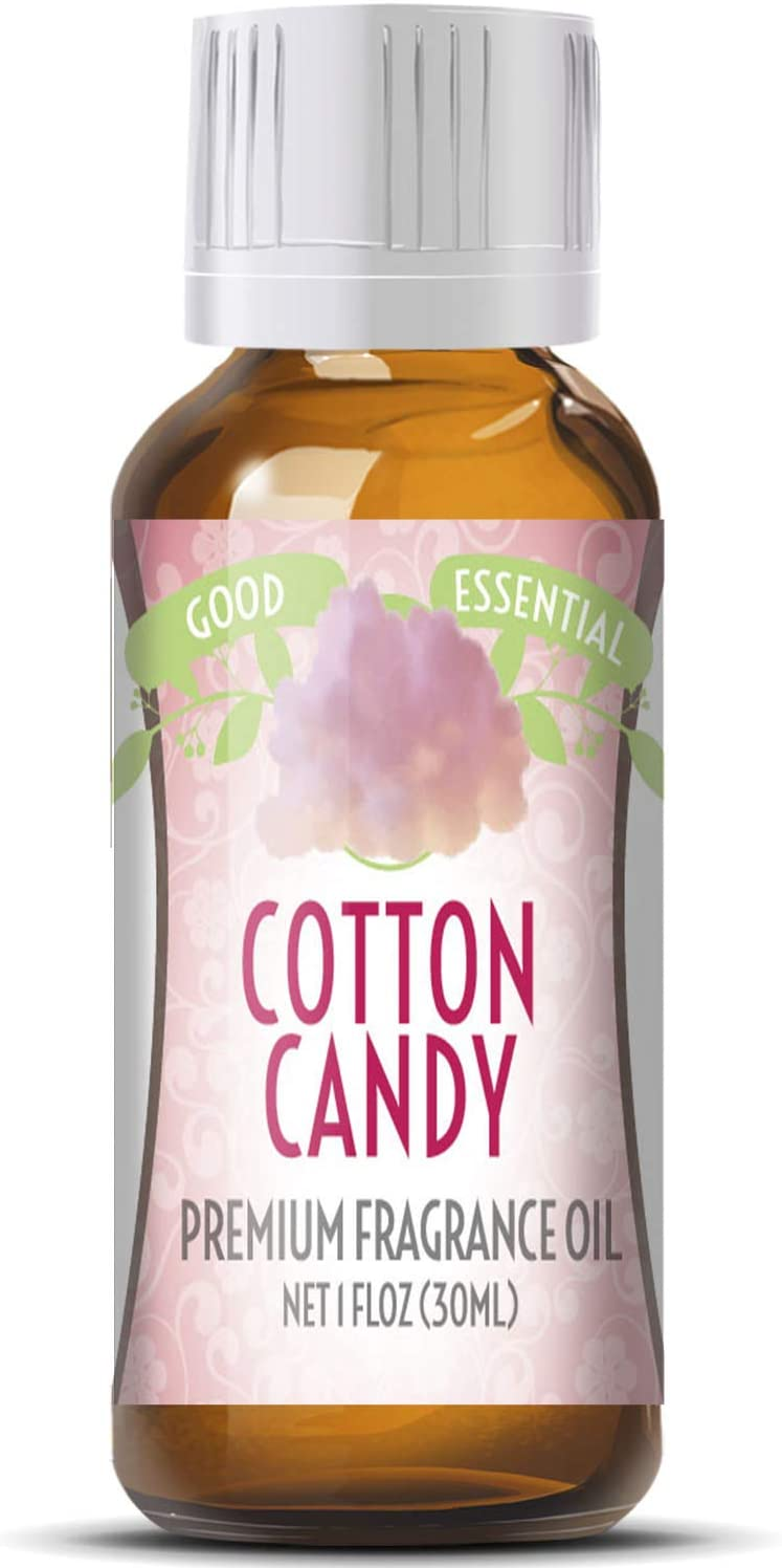 Cotton Candy Scented Oil by Good Essential (Huge 1oz Bottle - Premium Grade Fragrance Oil) - Perfect for Aromatherapy, Perfume, Soaps, Candles, Slime, Lotions, and More!