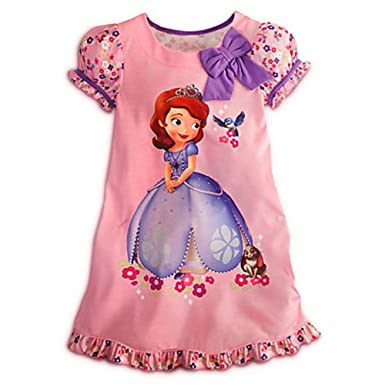 Disney Junior Princess Sofia The First Nightshirt Nightgown Pajama   10   L  Large 5dc7433de