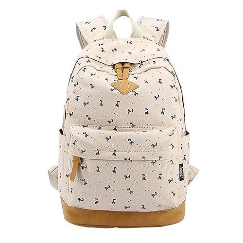 MingTai Mochilas Escolares Mujer Mochila Escolar Lona Grande Bolsa Casual Backpack Para Chicas Viaje Oferta Mochilas Para Libros: Amazon.es: Zapatos y ...