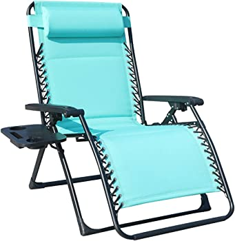Goldsun Oversize XL Padded Zero Gravity Lounge Patio Chair