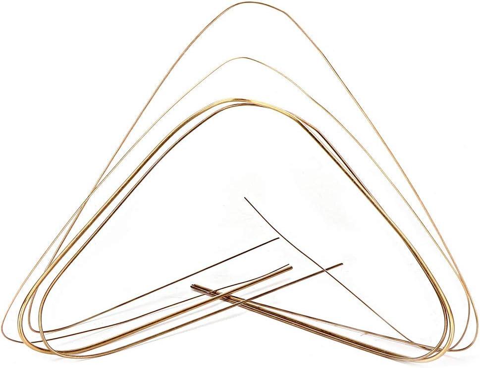 1,5 mm SunshineFace Schwei/ßdraht 0,7 mm Gold-Silber 4 St/ück 0,5 mm 1,0 mm