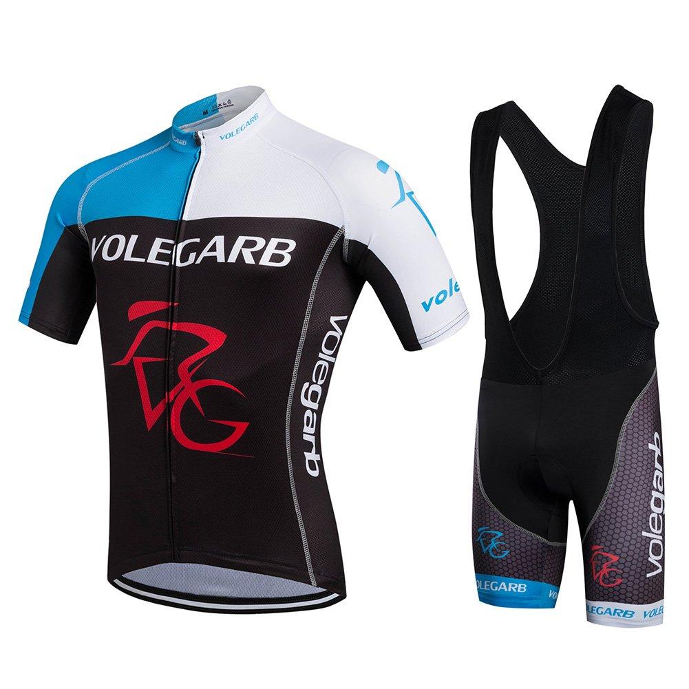 Fastar Maillot Ciclismo Verano para hombres y mujeres - Jersey de Manga  Corta + Pantalones Cortos 86a9a60fc5354