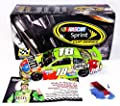 AUTOGRAPHED 2015 Kyle Busch #18 M&Ms Crispy Racing KENTUCKY WIN RACED VERSION (Victory Lane Confetti) Signed Lionel 1/24 NASCAR Collectible Diecast Car with COA (#411 of only 735 produced!)