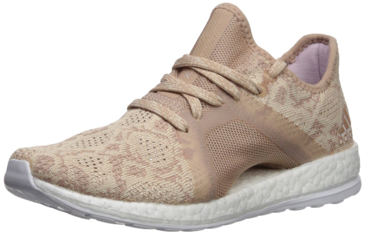 adidas Women's Pureboost X Element Running Shoe B0719HP4TY 10.5 B(M) US|Ash Pearl/Ash Pearl/Hi-res Blue