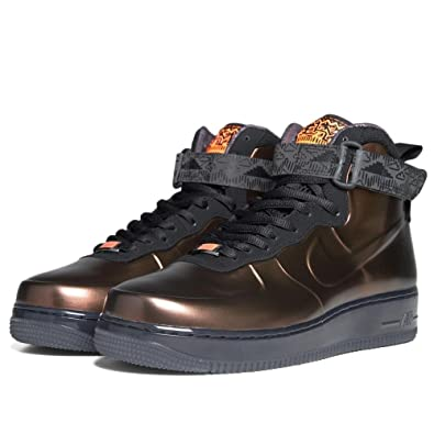 promo code 9185f 7d833 Amazon.com  NIKE Air Force 1 Foamposite BHM QS  Black History Month  -  586583-800 - Size 10.5  Shoes