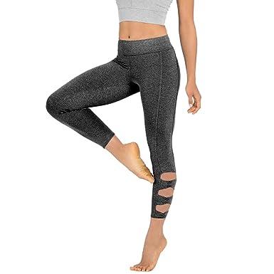MOIKA Pantalon De Yoga Taille Haute Leggings Sport Fitness Gym Courir  AthléTique Pantalons Grande Taille pour Femme  Amazon.fr  Vêtements et  accessoires 633940ab57f