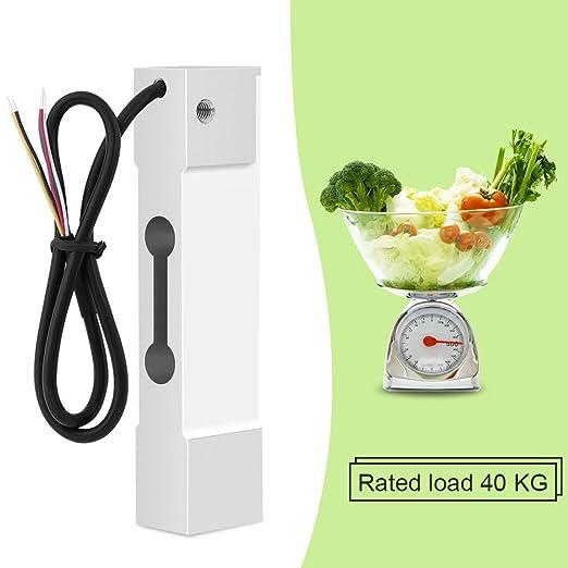 Sensor de Pesaje de 40KG CZL601 Sensor de Pesos Medidor de Peso de Aleación de Aluminio para Balanza Eléctrica: Amazon.es: Industria, empresas y ciencia