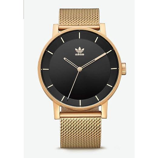 Adidas Reloj Analógico para Hombre de Cuarzo con Correa en Acero Inoxidable Z04-1604-00: Amazon.es: Relojes