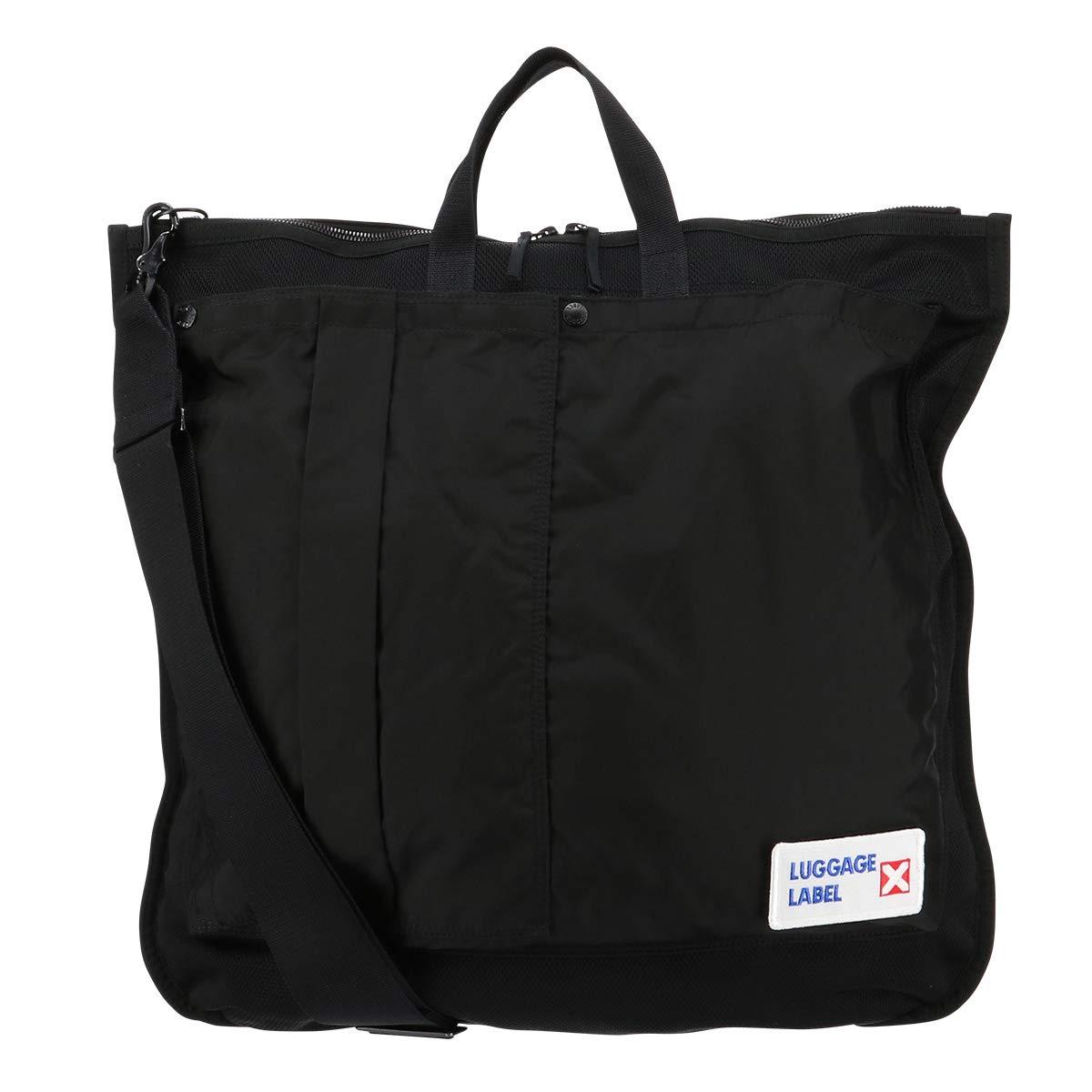 [ラゲッジレーベル] トートバッグ カーゴ メンズ 967-05721 B07GXFYP6Z 【10】ブラック
