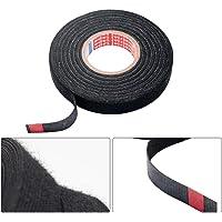 Bedrading Tape Vogueing Tool Isolatie Tape Loom Doek Harnas Tape Zwart voor Automotive Interieur Onderdelen 9mm x 25m…