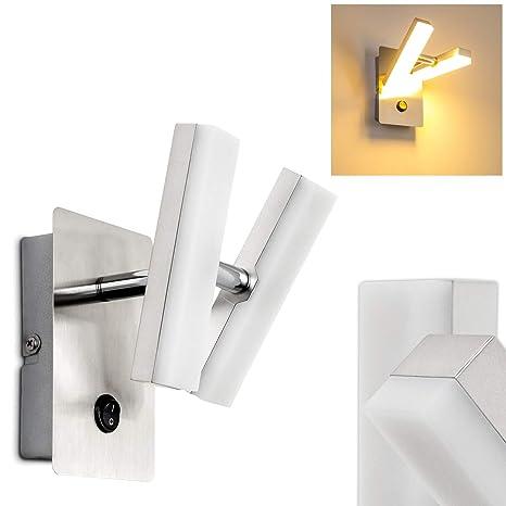 Lampada da Parete LED Design Moderno - Applique Spot LED con Faretti ...