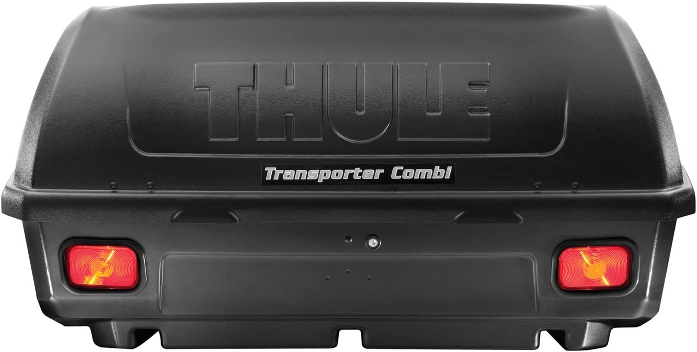 4. Thule Transporter Hitch Mounted Enclosed Cargo Carrier