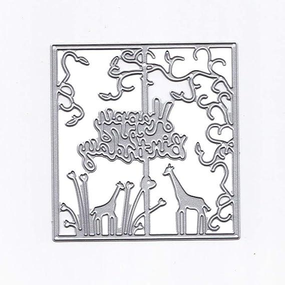 WOCACHI - Plantillas de metal para troquelado de álbumes de ...