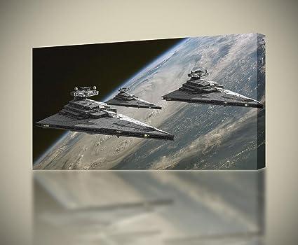 Star Wars Jedi Battle Canvas Print 20*30 Inch HUGE !