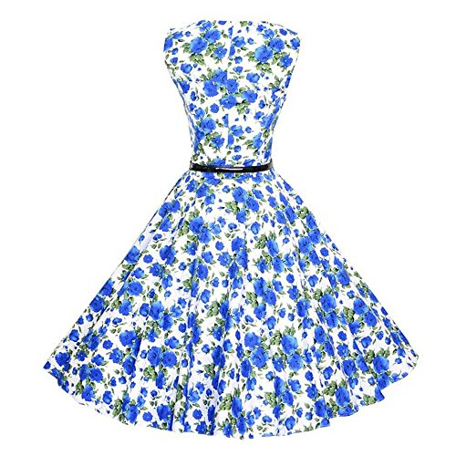 de Soire Classique annes Audrey Vintage Style 1950's up Robe Cocktail 50 Retro pin ESAILQ W anx8zwHH