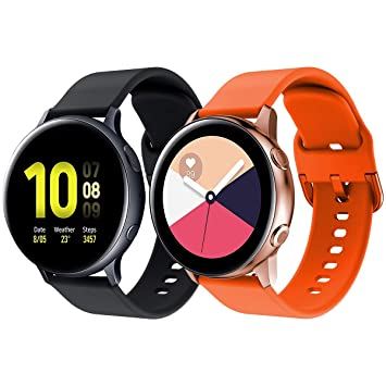 YaYuu Compatible Samsung Galaxy Watch Active/Active2 40mm 44mm ...