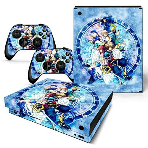 EBTY-Dreams Inc. - Microsoft Xbox One X Scorpio - Kingdom Hearts Video Game Sora Vinyl Skin Sticker Decal Protector (Pre Order Xbox One X Scorpio Edition)