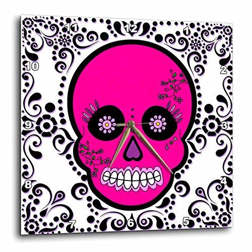 3dRose dpp_28871_3 Day of The Dead Skull Día De Los Muertos