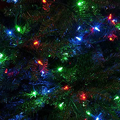 Bright Tunes Decorative String Lights with Bluetooth Speakers, Warm White LED Lights, Green Cord by Bright Tunes