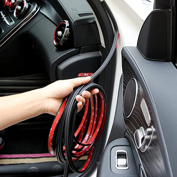 Amazon Com 5m Rubber Car Door Seal Strip Sound Insulation
