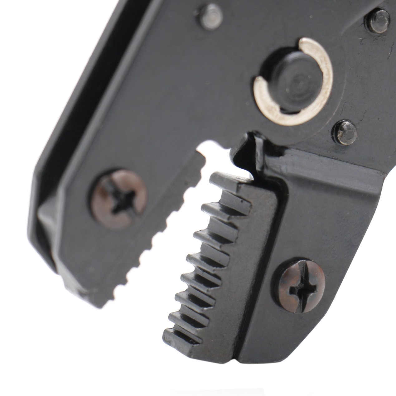 Heschen Mini cl/é /à cliquet Pince /à sertir Pince Sn-02wf Cord Extr/émit/é Bornes /à sertir outils /à utiliser pour 0,14 Orange 26/–13/AWG 2,5/mm/²