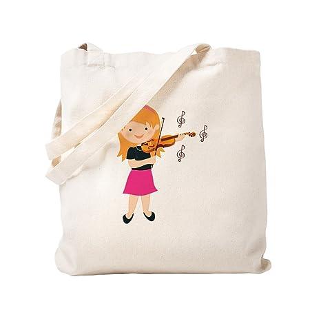 Amazon.com: CafePress – Violín Música niña – Gamuza de bolsa ...