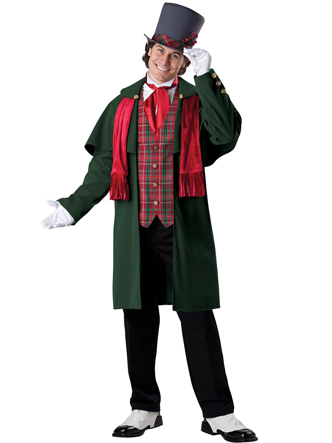 Victorian Men's Costumes: Mad Hatter, Rhet Butler, Willy Wonka  Mens Yuletide Gent Christmas Costume  AT vintagedancer.com